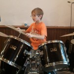 DEVON ON DRUMS